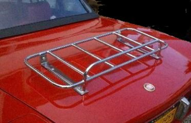 Fiat 124 Sports car trunk luggage rack