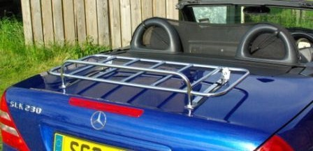 Mercedes Sports car trunk luggage rack