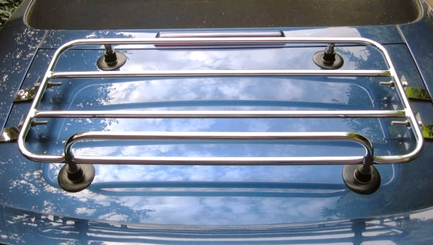 Audi TT removable car trunk luggage rack