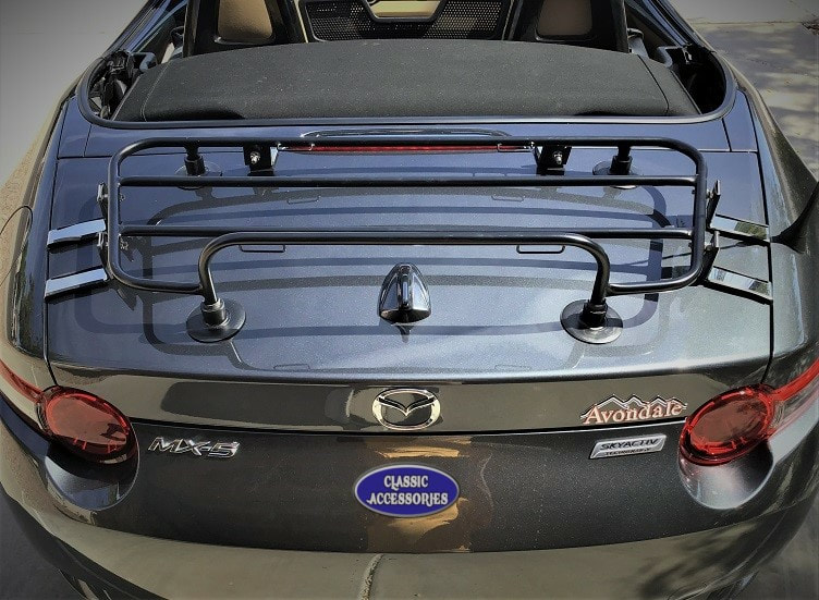 MAZDA MX5 MIATA ND 2016 BOOT TRUNK LUGGAGE RACK CARRIER
