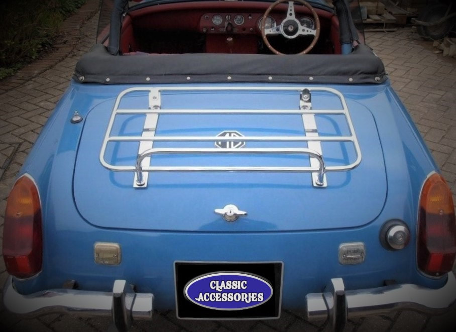 MG MIDGET TRUNK LUGGAGE RACK