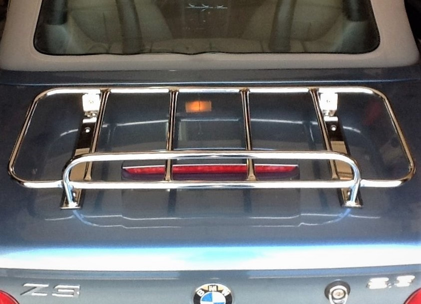 Sports BMW car trunk luggage rack